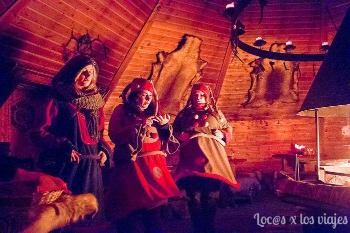 En la Escuela de Elfos de Joulukka