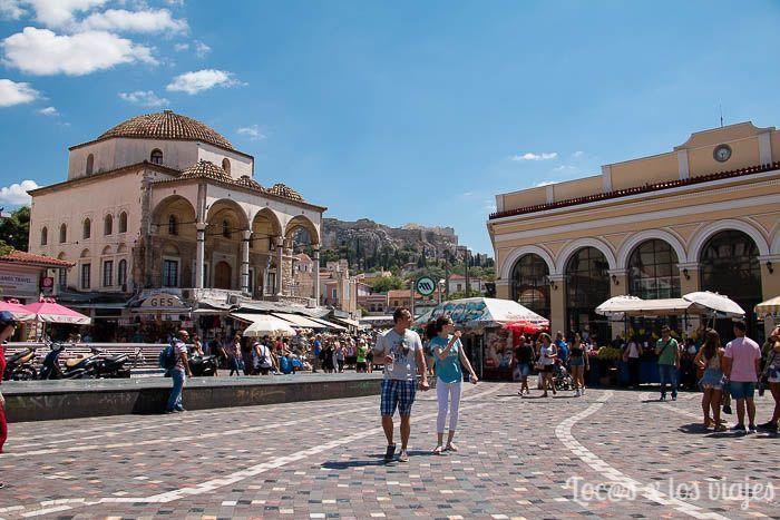 Atenas: Monastiraki