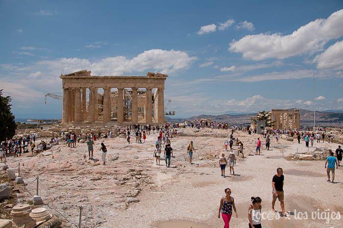 Atenas: Partenon en la Acrópolis