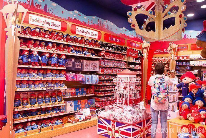 Londres con niños: Hamley's