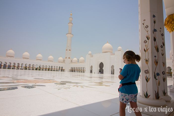 Abu Dhabi en dos días: Mezquita Sheikh Zayed
