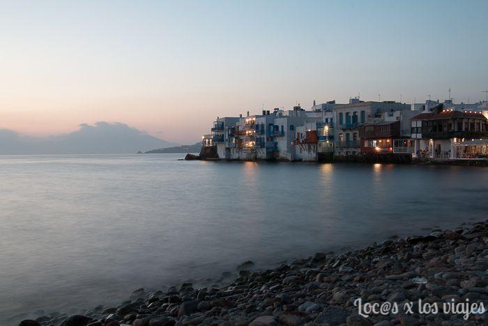 Mikonos en 24 horas: Atardecer en Little Venice