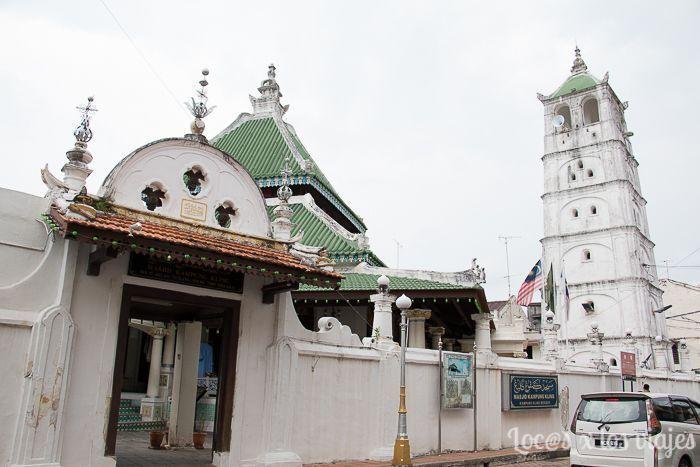 Melaka: Mezquita Masjid Kampung Kling