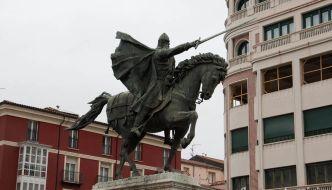 Burgos en un fin de semana con niños: Estatua del Cid