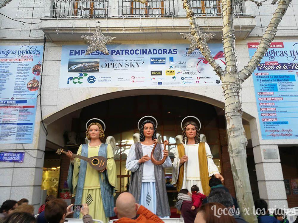 Mágicas Navidades de Torrejón: Ángeles Navideños gigantes