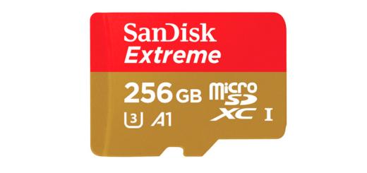 microSD de 256 Gb
