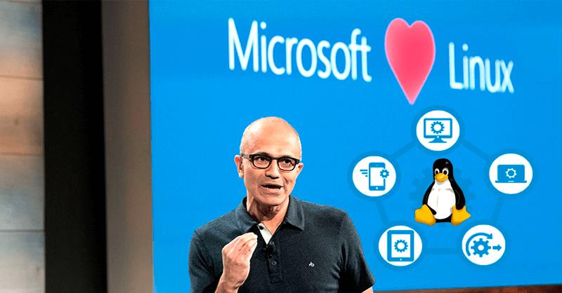 productos Microsoft disponible Linux