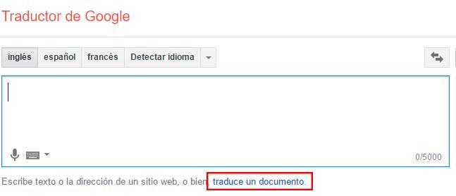 traducir un archivo