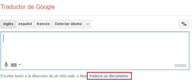 translate a file