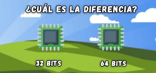 ¿Cuál es la diferencia entre una CPU de 32 y 64 bits?