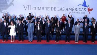 Eindceremonie van de Zevende Top van de Amerika's