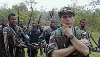 Carlos Castaño, één van de leiders van paramilitaire groeperingen in Colombia