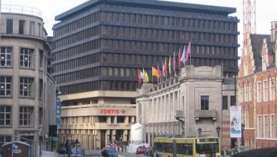 Hoofdzetel BNP-Paribas-Fortis Brussel