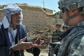 iraakse bevolking onder amerikaanse bezetting