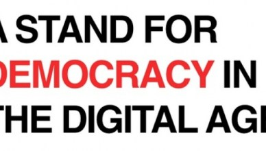 A stand for democracy in the digital age