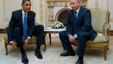 Poetin en Obama bij een vorige ontmoeting