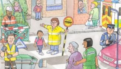 Openbare werken, bibliotheken, hulpdiensten, ouderenzorg, school, verkeerspolitie... niet voor winst maar voor de gemeenschap