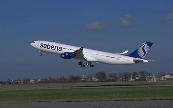 Sabena Airbus A340, dit toestel voerde de laatste vlucht van Sabena uit