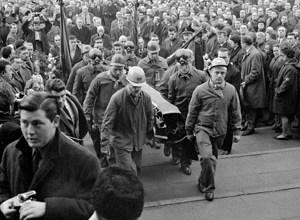 Begrafenis van Jan Latos