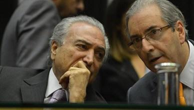 Michel Temer en Eduardo da Cunha