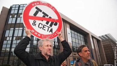 Een 'bijlage' of 'verklaring' bij het CETA-verdrag, wat betekent dat?