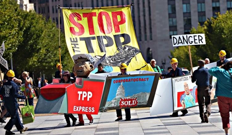 Anti-TPP-protest is in de VS al jaren actief