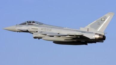 Eurofighter ZK078 van de luchtmacht van Saoedi-Arabië, met Vlaamse cockpitinstrumenten