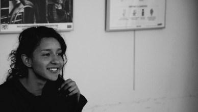 Berta Zúñiga Cáceres, 25-jarige dochter van de op 3 maart 2016 vermoorde Berta Cáceres Flores