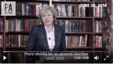 Teresa May op 30 juni 2016