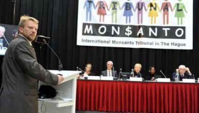 Monsanto begaat misdaden tegen de mensheid