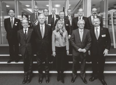 De 'Group of Personalities' omvat CEOs van grote Europese wapenbedrijven