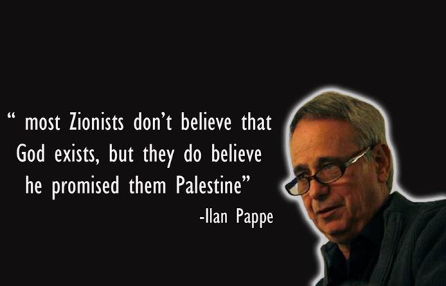 Ilan Pappé on zionists