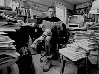 Noam Chomsky aan de Massachusetts Institute of Technology