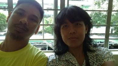 Marklen Maojo Maga en zijn echtgenote Lengua