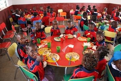 comedores infantiles en Sierra Leona