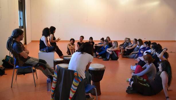 Abril Joven 2013 danza africana