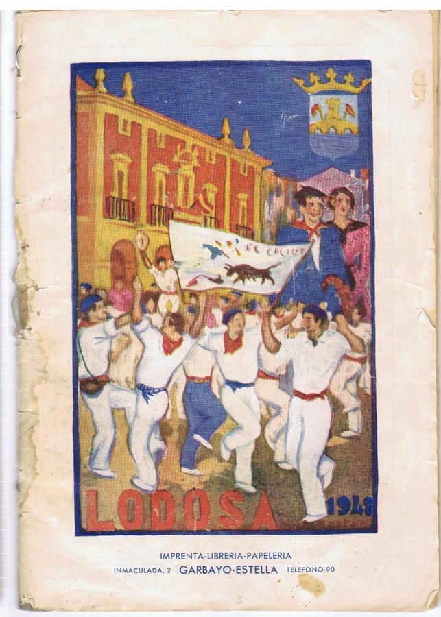 Portada Programa Fiestas 1948