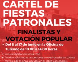 CARTEL DE FIESTAS PATRONALES
