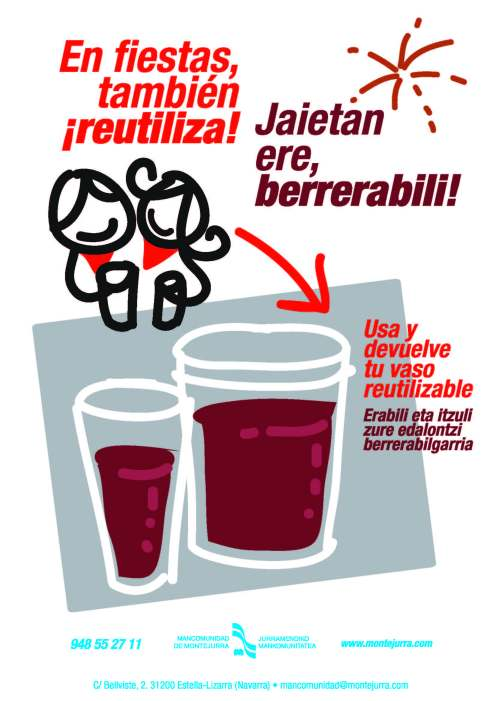 Vasos reciclables