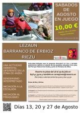 LEZAUN: BARRANCO DE ERBIOZ