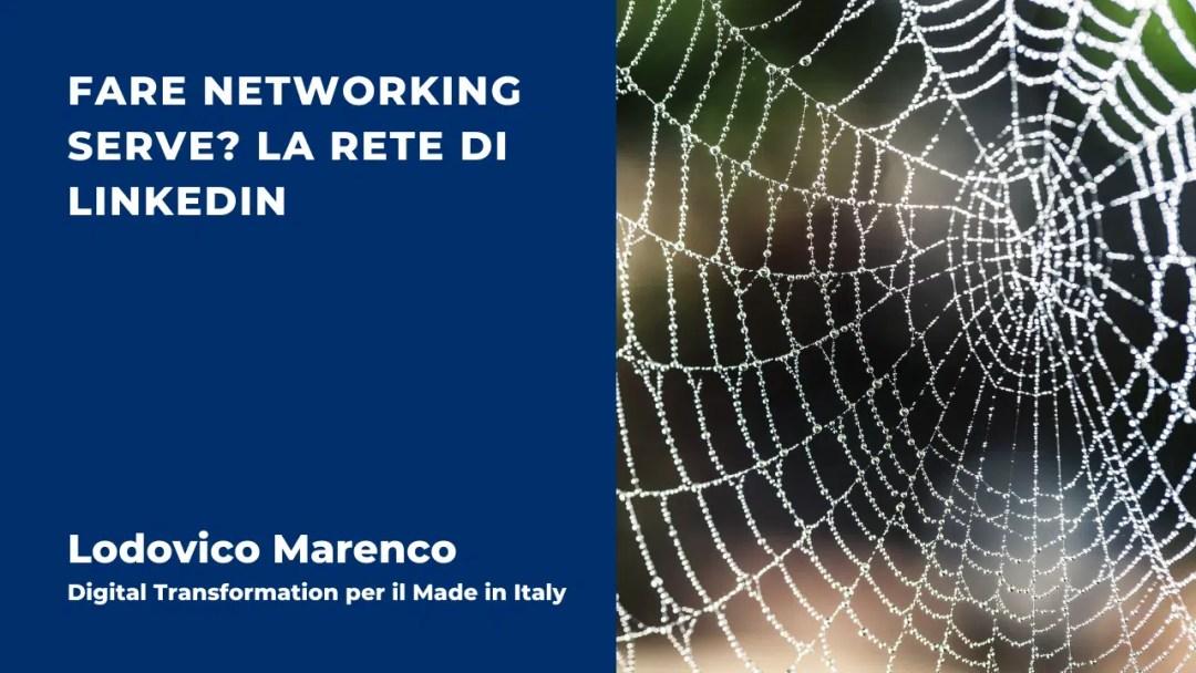 Fare Networking serve? La rete di LinkedIn
