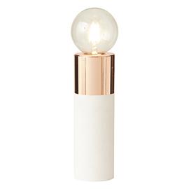 lampe-cuivre-blanc-castorama