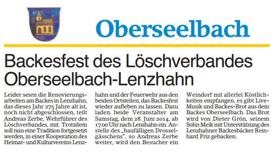 Backesfest2014