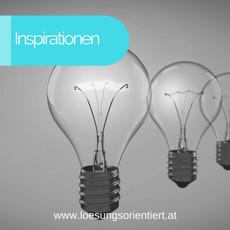 Inspirationen für das Neue Jahr