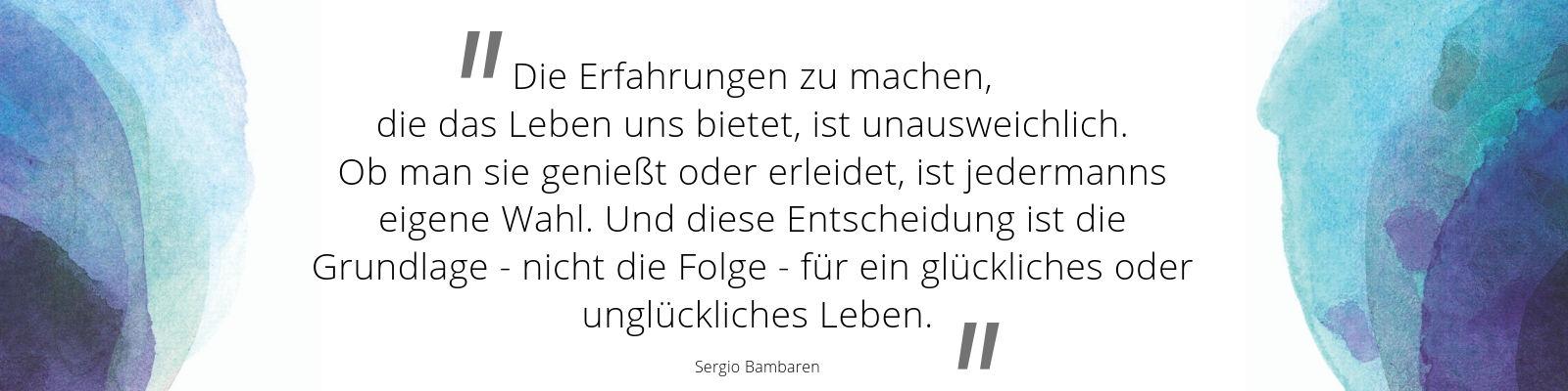 Zitat von Sergio Bambaren