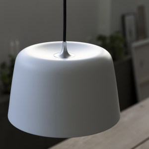 loevschall A/S, loevschall, noir, noir lampe, noir light, noir-by-loevschall, bordlampe, pendel, pendant, stor, light, LED, lamp, lys, lampe, stuen, stue, living room, black, white, CRI, Ra, sort, hvid,