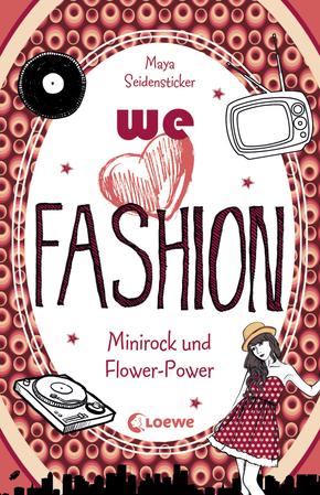 Minirock und Flower-Power