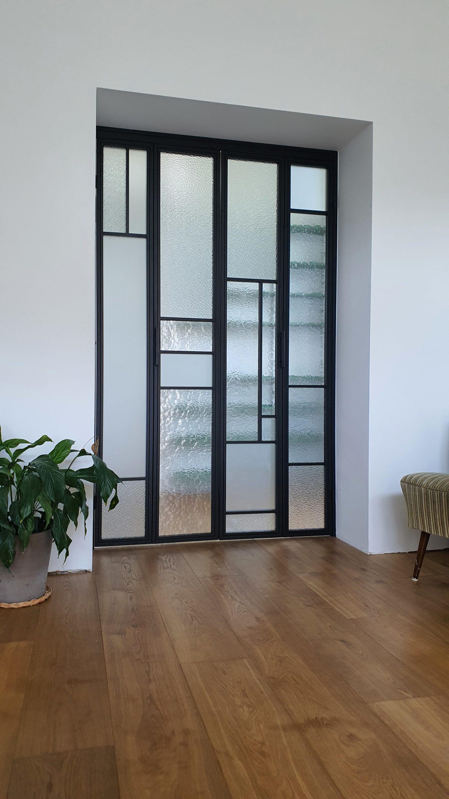 Drzwi loftowe detale