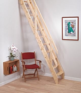 Space Saving Stairs Stairs For Small Spaces Loft Centre   Staircases For Tight Spaces   Farmhouse   Cool   10 Ft Ceiling   Ladder   Stylish
