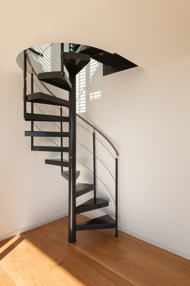 Spiral Staircases For Small Spaces | Small Stairs For Small Spaces | Design | Small Apartment | Small Living Area | Compact | Tiny House